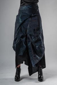 Leon Emanuel Blanck DIS-W-KS-01 Anfractuous Distortion Layered Long Skirt