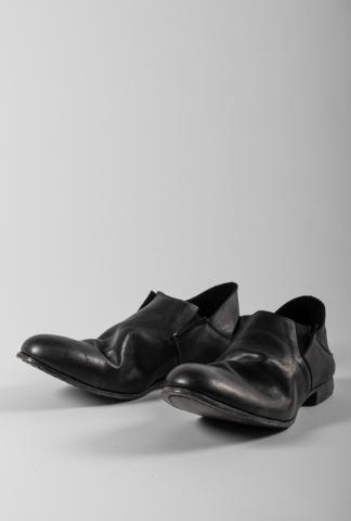 Portaille Shoes Heat Shrunk Cow Leather Loafers