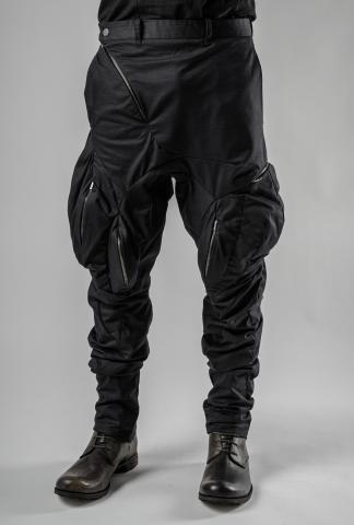 Leon Emanuel Blanck DIS-M-MPP/01 Anfractuous Distortion Cargo Trousers