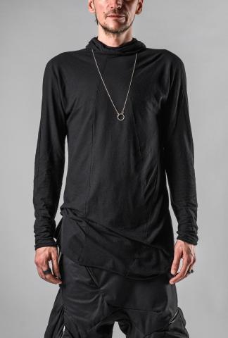 Leon Emanuel Blanck DIS-M-HO/01 Anfractuous Distortion Hoodie