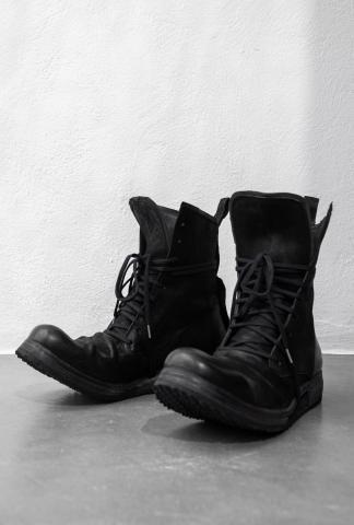 Boris Bidjan Saberi BOOT2 Vegetable Tanned Horse Leather Combat Boots