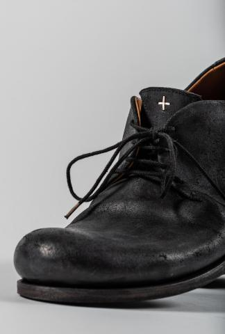 M.A+ S1A1 One Piece Folded Leather Derbies