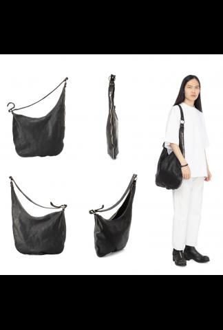 Guidi SZ01 Large asymmetric Zipped Bag