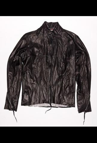 M.A+ zipped sleeves comfortable biker jacket (black HP)
