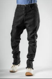 Individual Sentiments Selvedge Denim Bootcut Curved Jeans