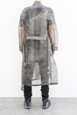 Boris Bidjan Saberi sheer robe