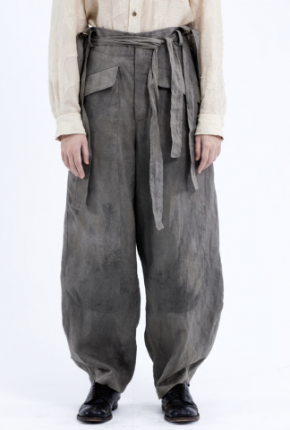 Chiahung Su Tapered Trousers with Shoulder Straps