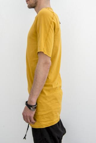 Boris Bidjan Saberi classic TS1 short-sleeve tee in yellow