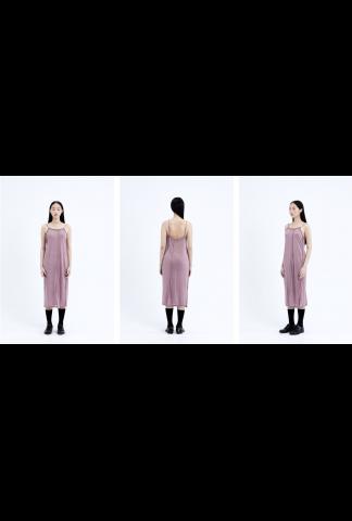Chiahung Su Jersey Slip Dress with Exposed Seams