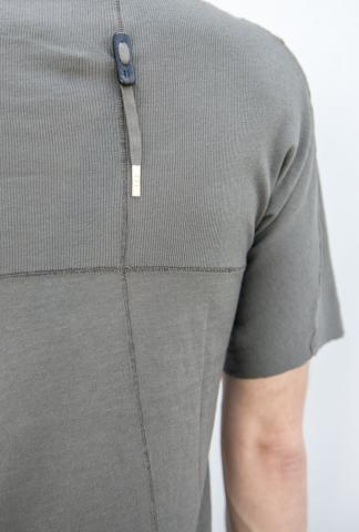 Boris Bidjan Saberi TS3 elongated short-sleeve w/cross seams