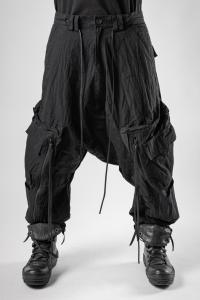 A.F. Artefact Cropped Low-crotch Cargo Trousers
