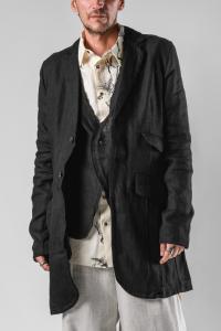 Aleksandr Manamis Integrated Waistcoat Long Jacket