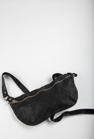 Guidi Q10M BLKT Soft Horse Full Grain Leather Belt Bag