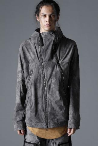 D.HYGEN Uneven Dyed CORDURA Hooded Jacket