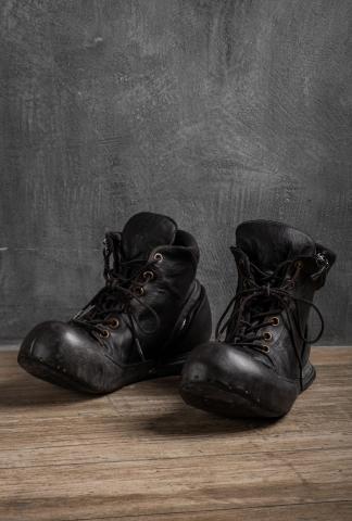 NIHOMANO Bouyantly Transformer Boulevardier Full Grain Leather Sneakers