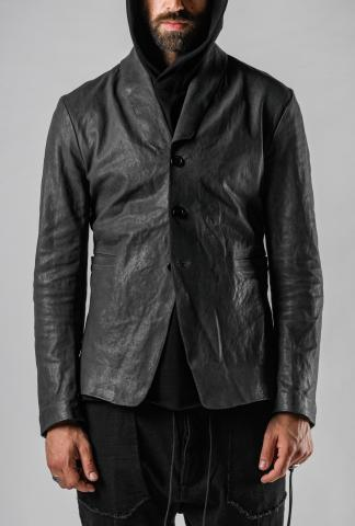 MUT Buttoned Leather Blazer