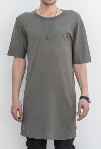 Boris Bidjan Saberi TS3 elongated short-sleeve w/cross seams