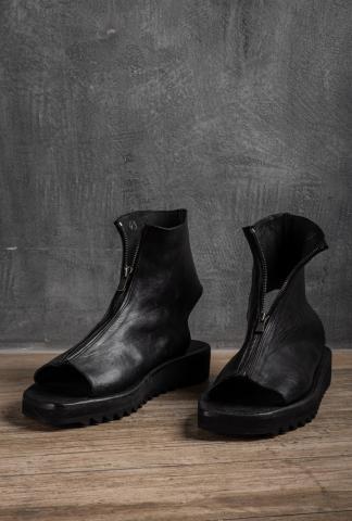 Dimissianos & Miller Platform Zipped Mule Sandals