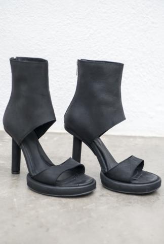 Goran Horal H3 Full Grain Scarred Antelope Leather Open Heels