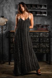 AtelierSeptem The Revolutionary Etude Asymmetrical Hand Cut SIlk Dress (Elixir Exclusive)