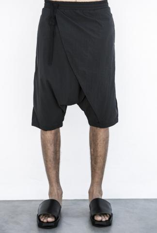 Andrea Ya'aqov Diagonal Cover Long Swim Shorts