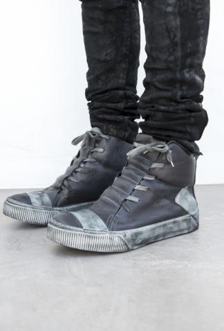 Boris Bidjan Saberi High BAMBA1 sneaker in dark grey