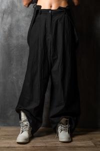 Masnada wide pants w/braces