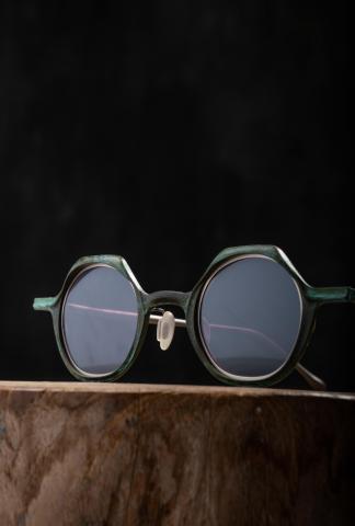 Rigards RG0128 Jade Copper Sunglasses