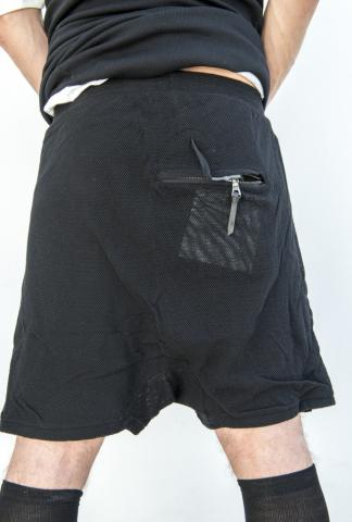 11byBBS P16 2-layer mesh jogging shorts