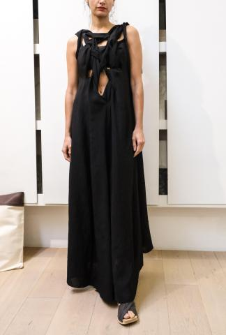 Alessandra Marchi Knotted Dress