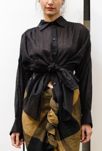 Alessandra Marchi Tied-up Shirt