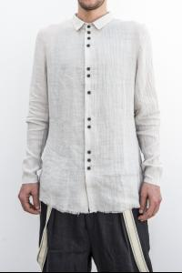 ALEKSANDR MANAMIS cross back double-button shirt