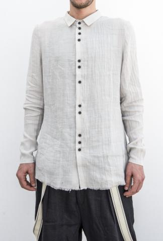 Aleksandr Manamis cross back double-button shirt
