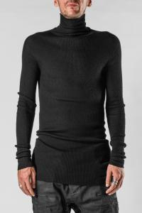 Boris Bidjan Saberi KNLS2 Cashmere High Neck Knit Sweater