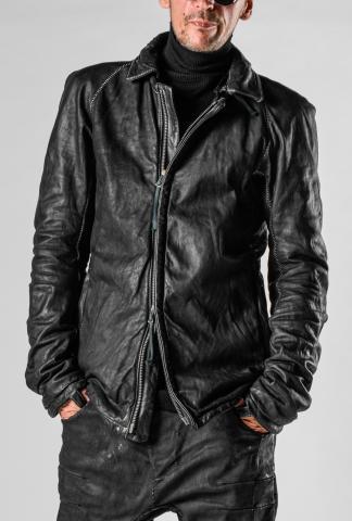 Boris Bidjan Saberi J2.1 Primaloft Padded Horse Leather Jacket