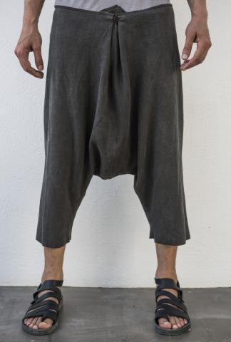 M.A+ P532C Fold Over Closure Sarouel Shorts