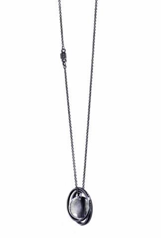 Werkstatt Munchen 15M3902 Fine Chain Frames Necklace
