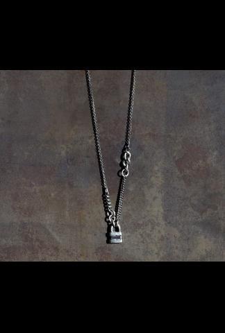 Werkstatt Munchen M3905 Fine Chain-lock Necklace