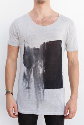 AMY GLENN T-shirt B RECT_WT Off white