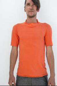 M.A+ T130C High-neck Short Sleeve T-shirt