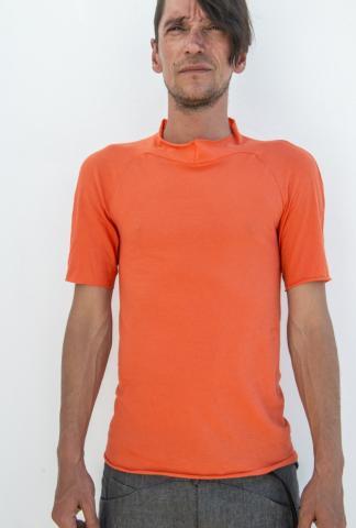 M.A+ T130C High-neck Short Sleeve T-shirt