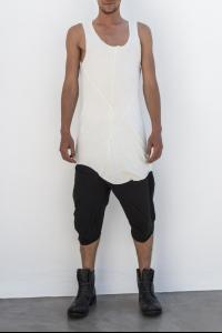 Leon Emanuel Blanck DIS-FTT-01 Anfractuous Distortion Fitted Tank Top