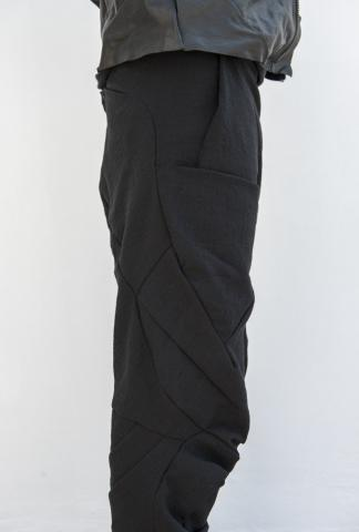 Leon Emanuel Blanck distortion 5 pocket long pants