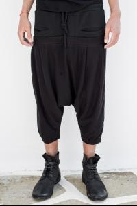 Andrea Ya'aqov Black net shorts