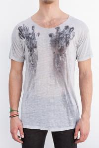 AMY GLENN T-shirt E HNDS_WT Off white