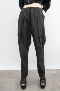 Andrea Ya'aqov Pleated Tapered Poplin Trousers