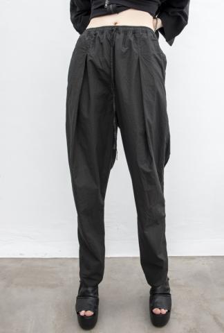 Andrea Ya'aqov Pleated Tapered Poplin Trousers