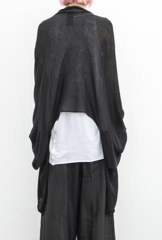 Isabel Benenato Draped Knit Cardigan