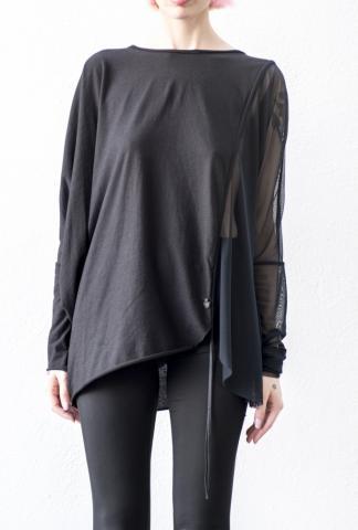 Nostrasantissima Semi Sheer Pullable Sweater