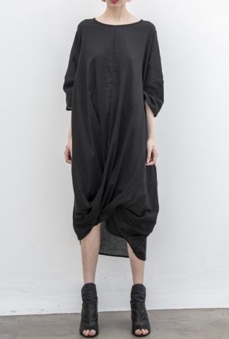 Un-Namable Draped Half Sleeve Dress